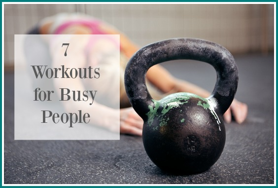 workouts for busy people