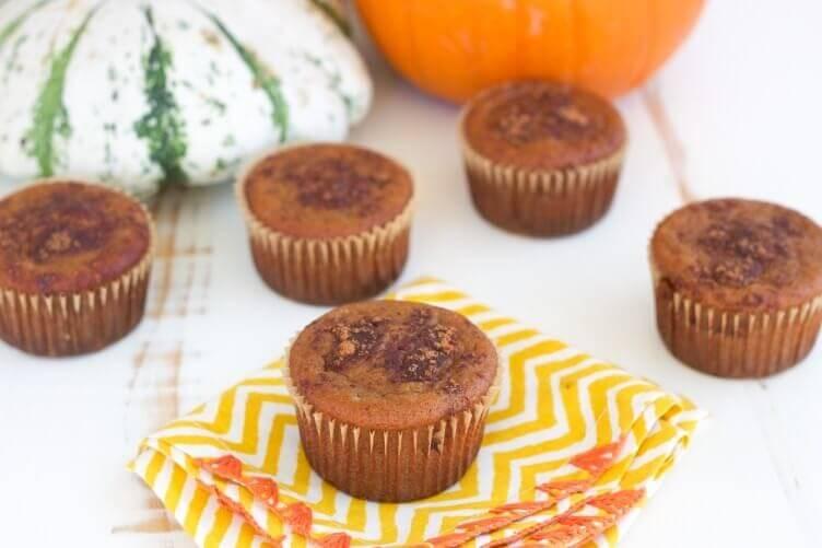 Paleo Pumpkin Muffins from Rubies & Radishes