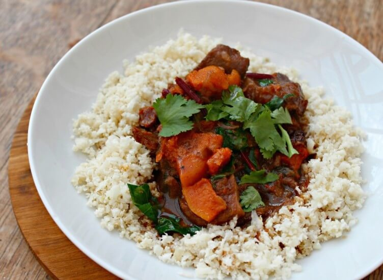 Moroccan Beef Stew with Lemons and Butternut Squash