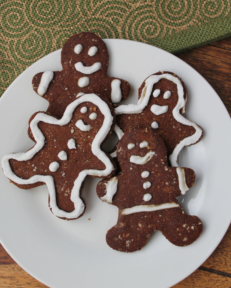 Paleo Vegan Gingerbread Cookies from Healy Eats Real