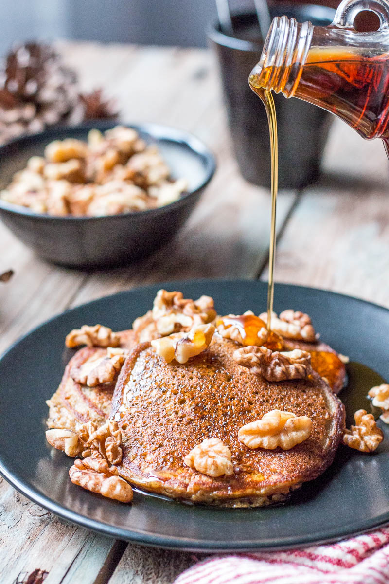 Made with only a few ingredients, these paleo plantain pancakes are quick and easy to make, and are sure to please your whole family.