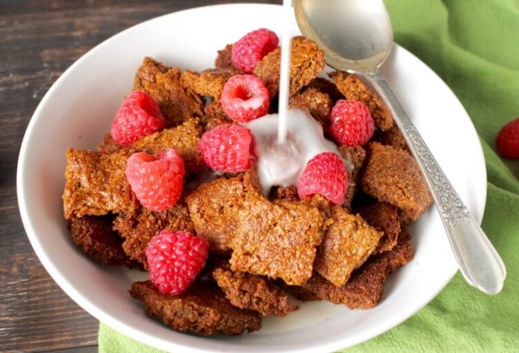 Paleo Cracklin Oat Bran Cereal from Jay's Baking Me Crazy