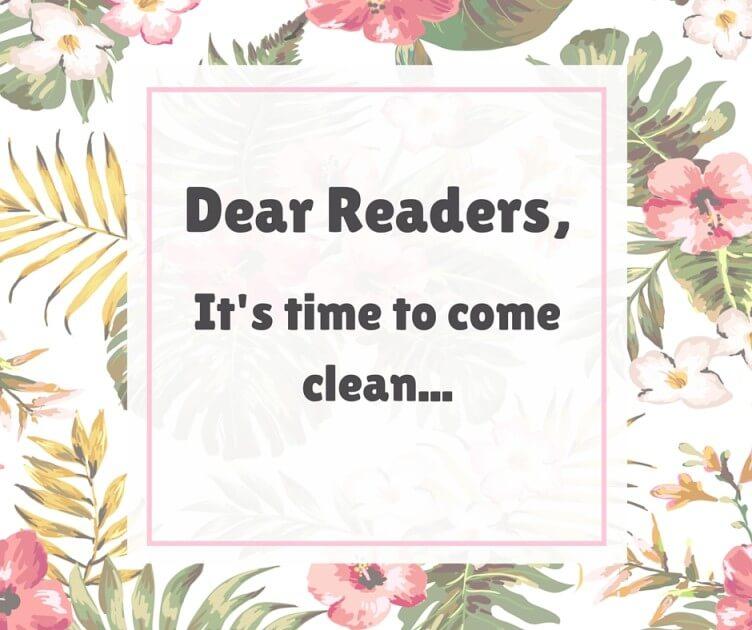 Dear Readers - self-care journey