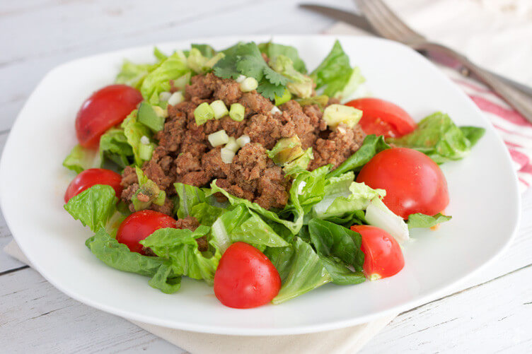 Easy Slow Cooker Taco Meat from Rubies & Radishes