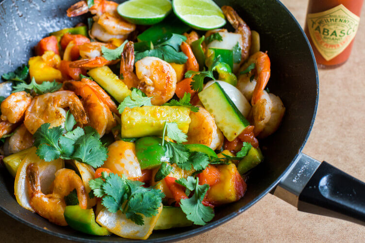 Pad Priew Wan Goong (Thai Sweet and Sour Stir-Fry with Shrimp) from The Domestic Man