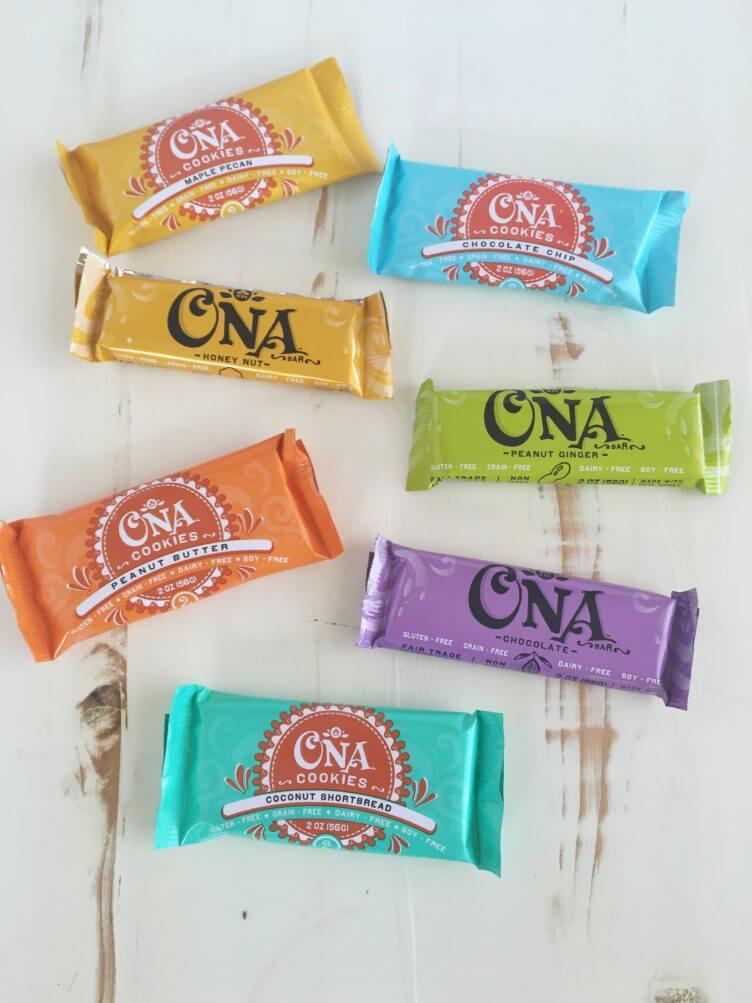 Ona Bars & Cookies