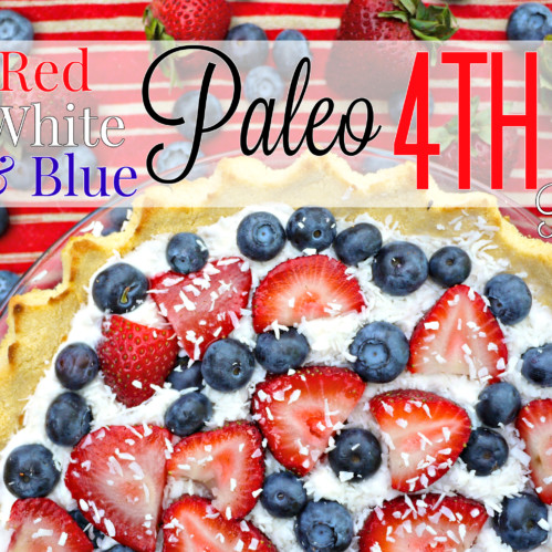 14 Red White & Blue Paleo 4th of July Recipes