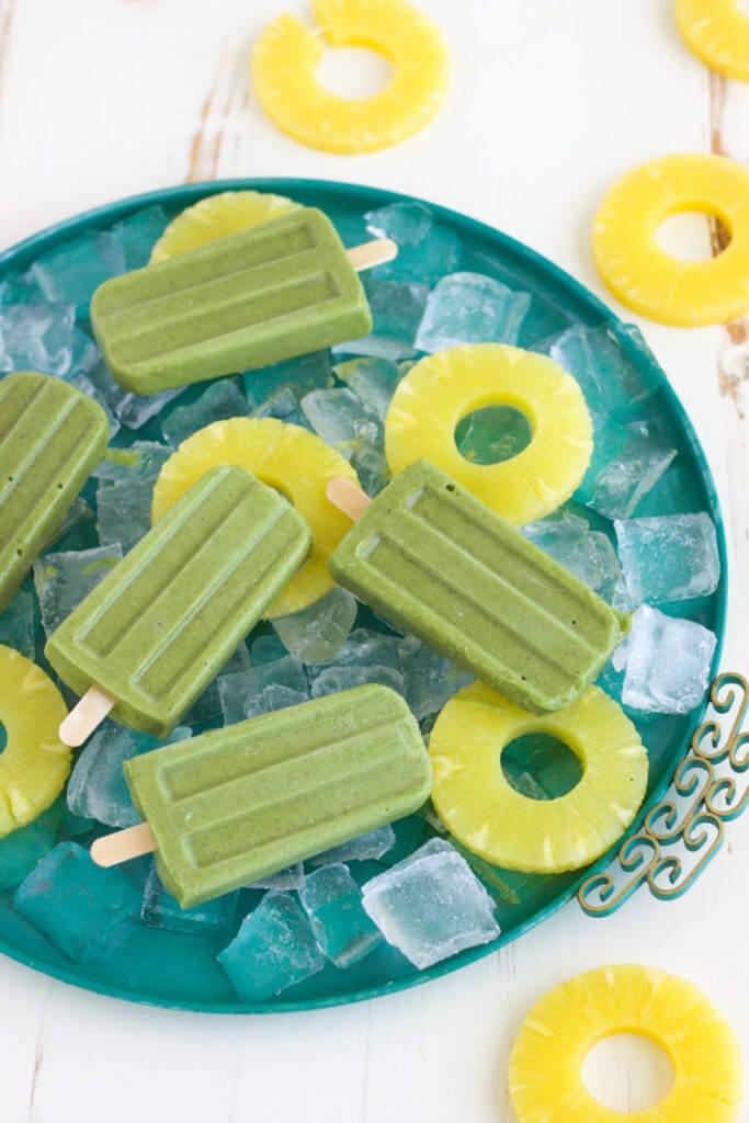 Superfood Green Pops - Collagen Beauty