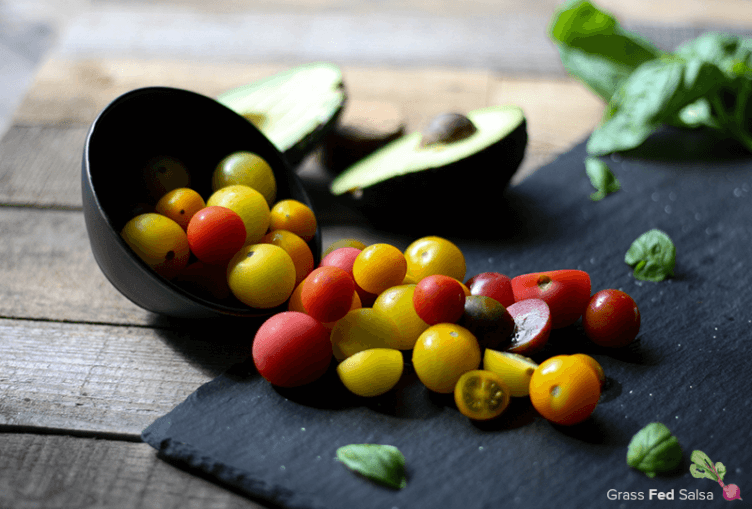 Grab the recipe for this refreshing Caprese Salad with a Primal Twist