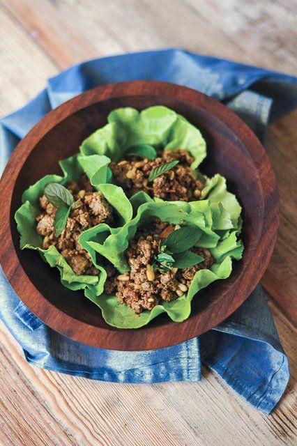 GROUND LAMB WITH PINE NUTS AND MINT - Summer Slow Cooker Recipes