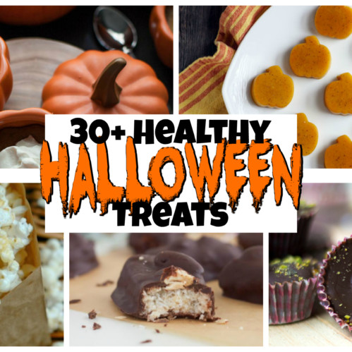 30+ Healthy Halloween Treats
