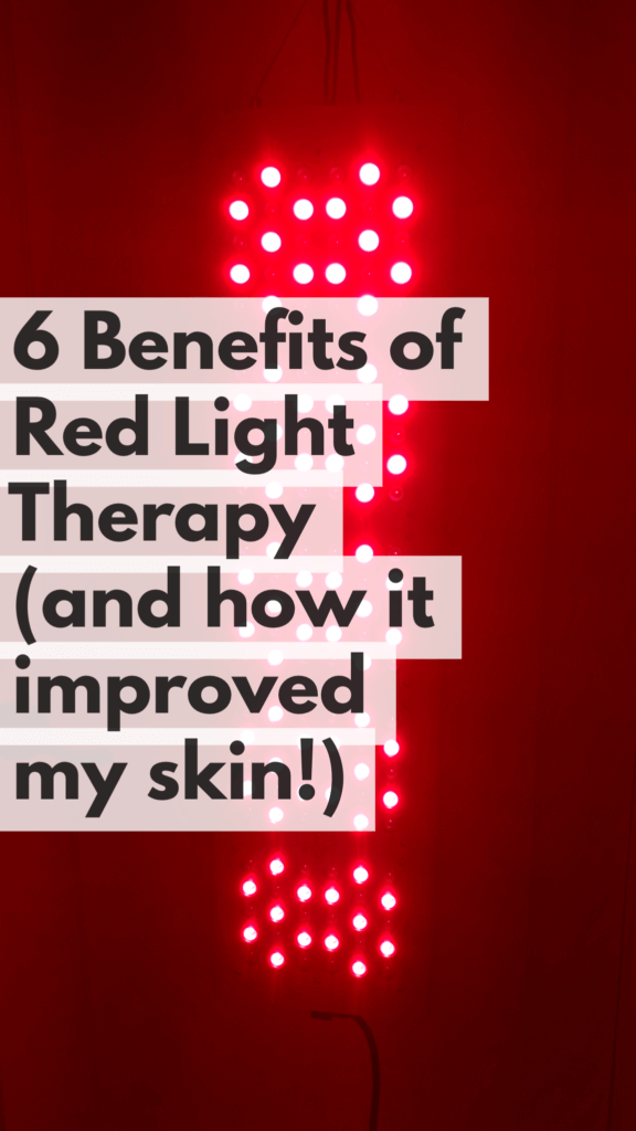 6 Benefits of Red Light Therapy