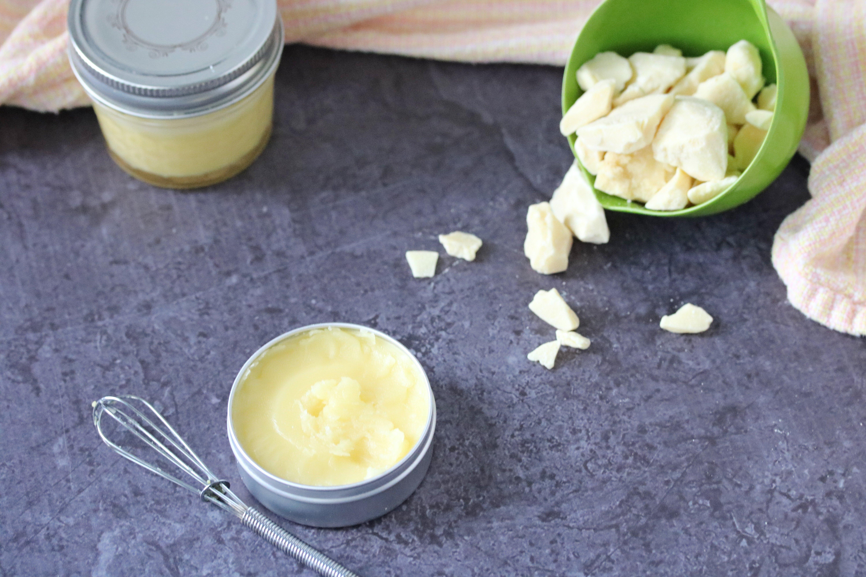 Diy lemongrass Body Butter