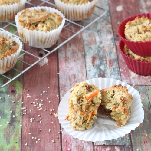 Paleo Seed Muffins