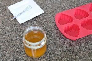 Honey Lotion Bar Prep