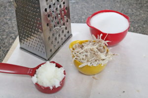 DIY sugar scrubs in process image
