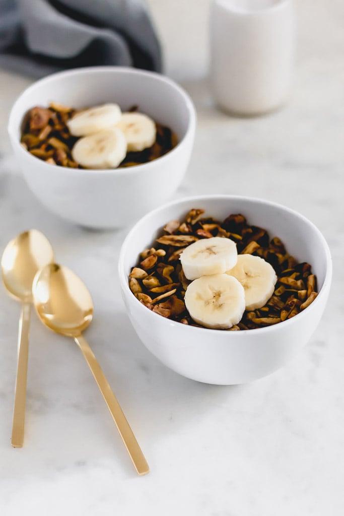 Grain-free banana granola